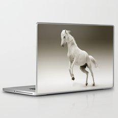 White Mare, horse Laptop & iPad Skin