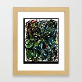 Johnny Cthulhu Framed Art Print