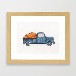 Rusty Bitch Framed Art Print