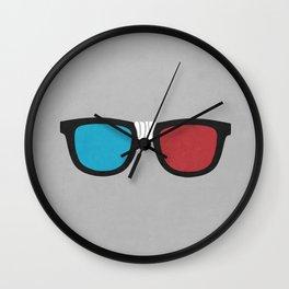 3D Geek Wall Clock