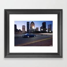 BMW E28 528i Framed Art Print