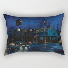 Rainy Night Rectangular Pillow