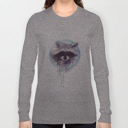 Hello Raccoon! Long Sleeve T-shirt