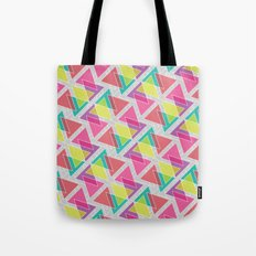 Let's Celebrate The Triangle Tote Bag