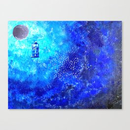 Tardis Trail Canvas Print