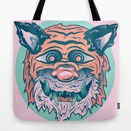 Trippy Tiger Tote Bag