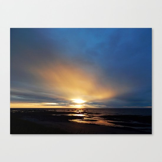 The Light under the Storm Canvas Print