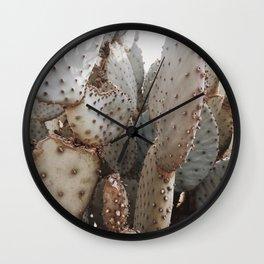 Cactus Closeup 3 Wall Clock