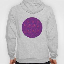 Flowerline – violet Hoody