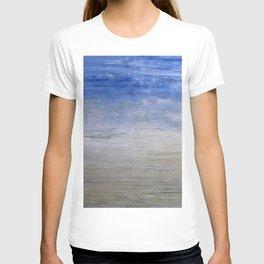 """""""1236-1 abstract beach"""" T-shirt"""