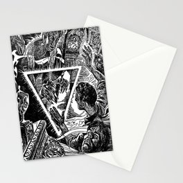 The Triangle of Terror Stationery Cards