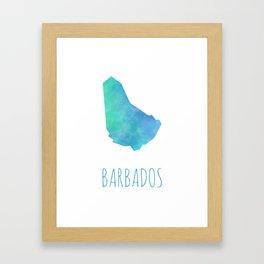 Barbados Framed Art Print
