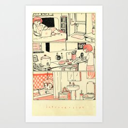 Introversion Art Print
