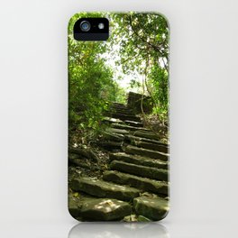 Up the Steps iPhone Case