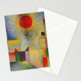 Paul Klee abstract Stationery Cards