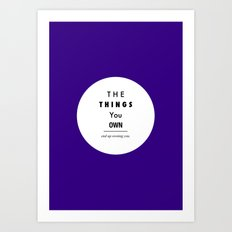 Possession Art Print