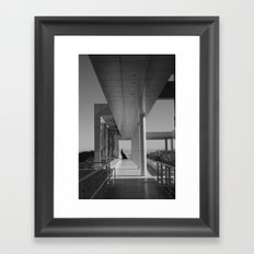 The Getty Framed Art Print