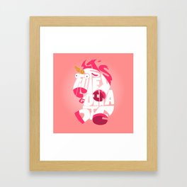 It's so fluffy - minion Framed Art Print