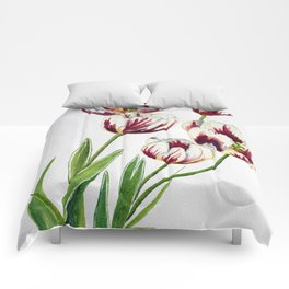 Watercolour Tulips Comforters