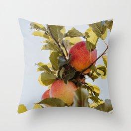 Autumn Apple II Throw Pillow