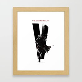Metal Gear Solid V: The Phantom Pain Framed Art Print
