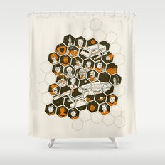 5 Year Mission Shower Curtain