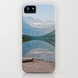 Grinnell Galcier, Glacier National Park, Montana iPhone Case