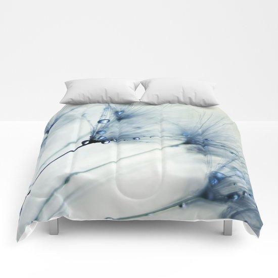 dandelion blue Comforters