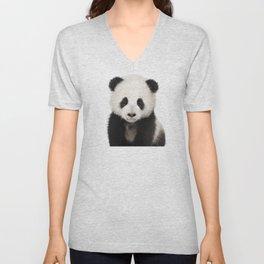 Panda Cub Unisex V-Neck