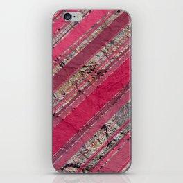 Pink  & Rock iPhone Skin