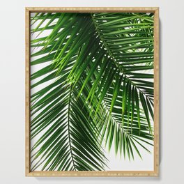 Palm Leaves #3 Serving Tray