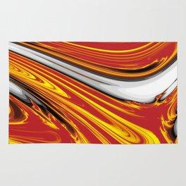 Magma Abstract Rug