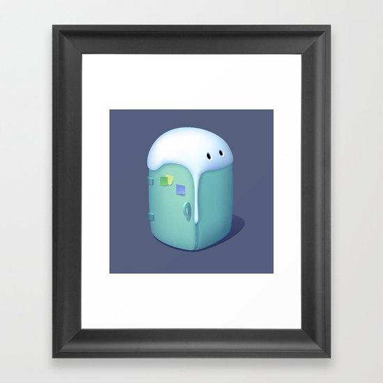 Refrigerator Framed Art Print