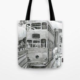 { 未來惑星 } Tramcar Tote Bag