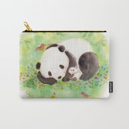 with mama panda Carry-All Pouch