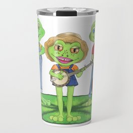 The Boggy Froggies Bluegrass Band Travel Mug