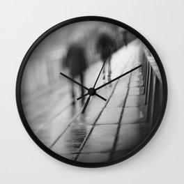 My shadows follow me... Wall Clock