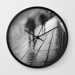 My shadows follow me... Wall Clock