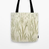 grass Tote Bags featuring Grass by Armin