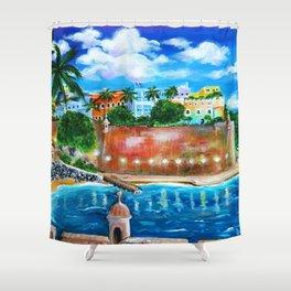 La Fortaleza, Old San Juan, Puerto Rico Shower Curtain
