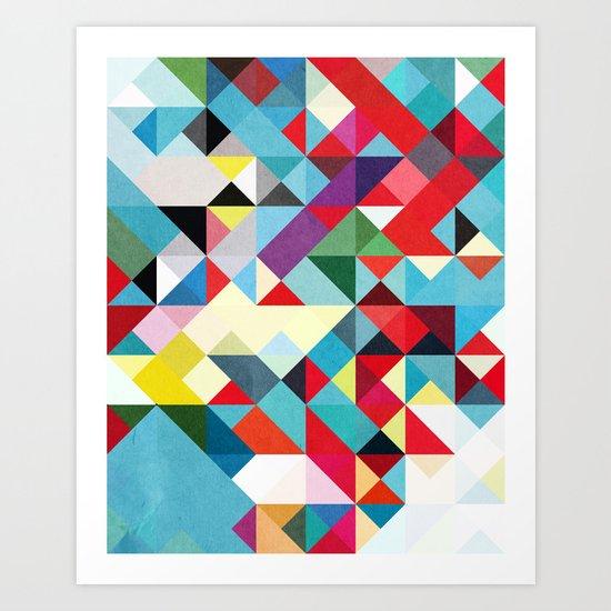 This Time 01. Art Print