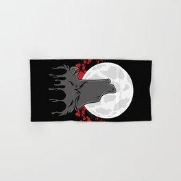 Howl at the Moon (Awoo) Hand & Bath Towel