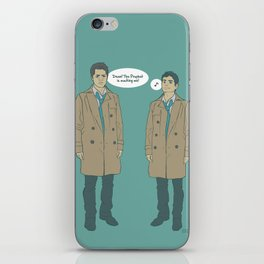 Cas & Kevin - Supernatural iPhone Skin
