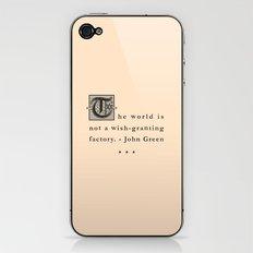 Wish-Granting Factory iPhone & iPod Skin
