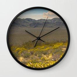 Super Bloom 7333 Paradise Joshua Tree Wall Clock