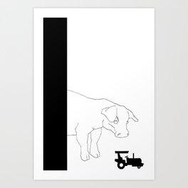 HYBRIS Art Print