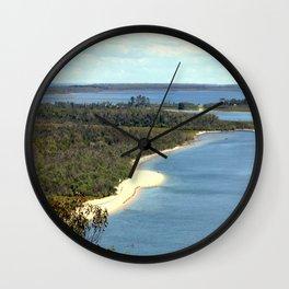 Islands in the Sun Wall Clock