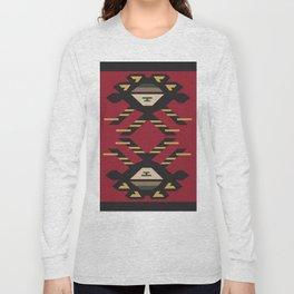 American Native Pattern No. 33 Long Sleeve T-shirt