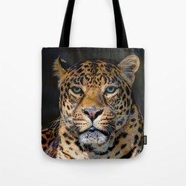 Portrait of Leopard Tote Bag