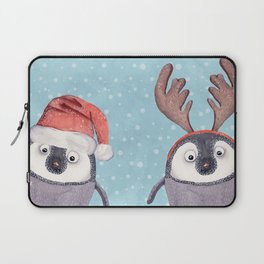 CHRISTMAS PENGUINS Laptop Sleeve
